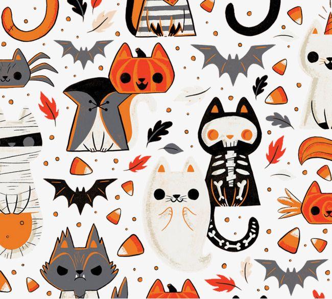Halloween Background in