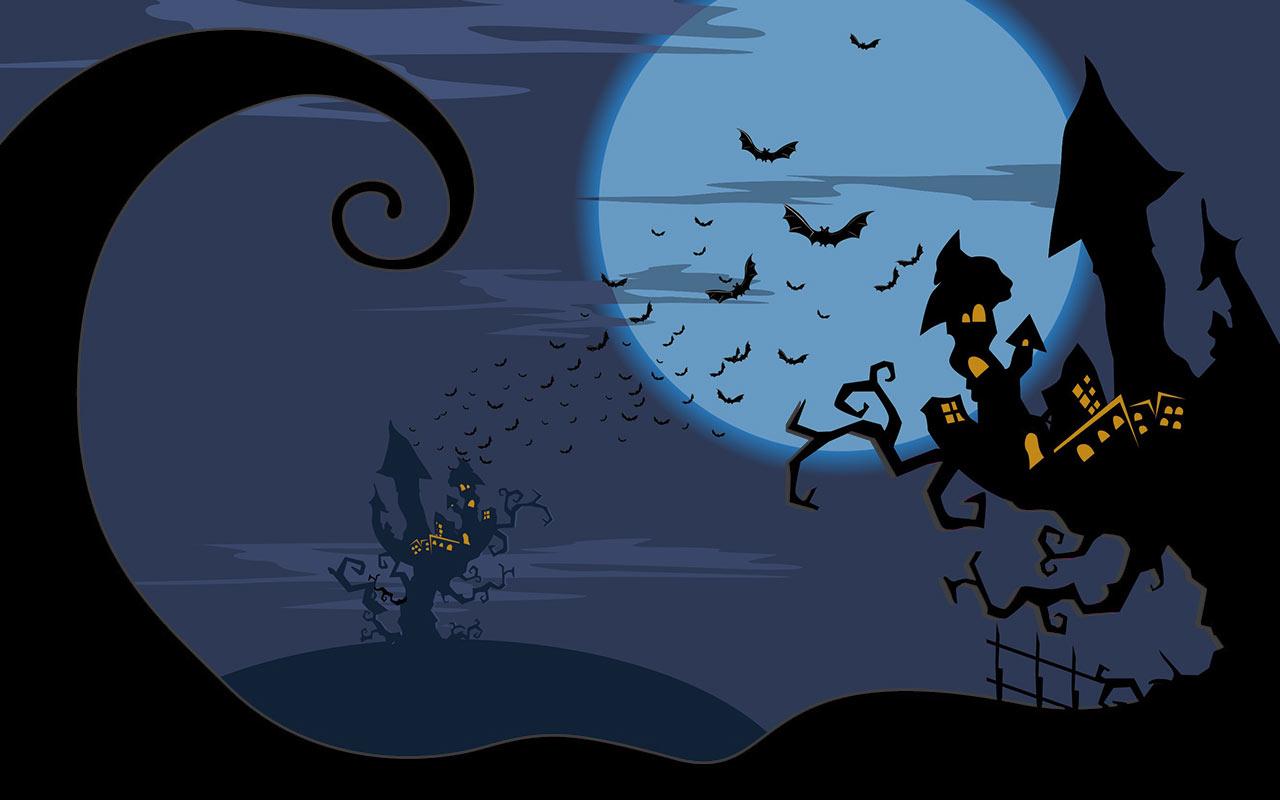 Halloween clipart background.