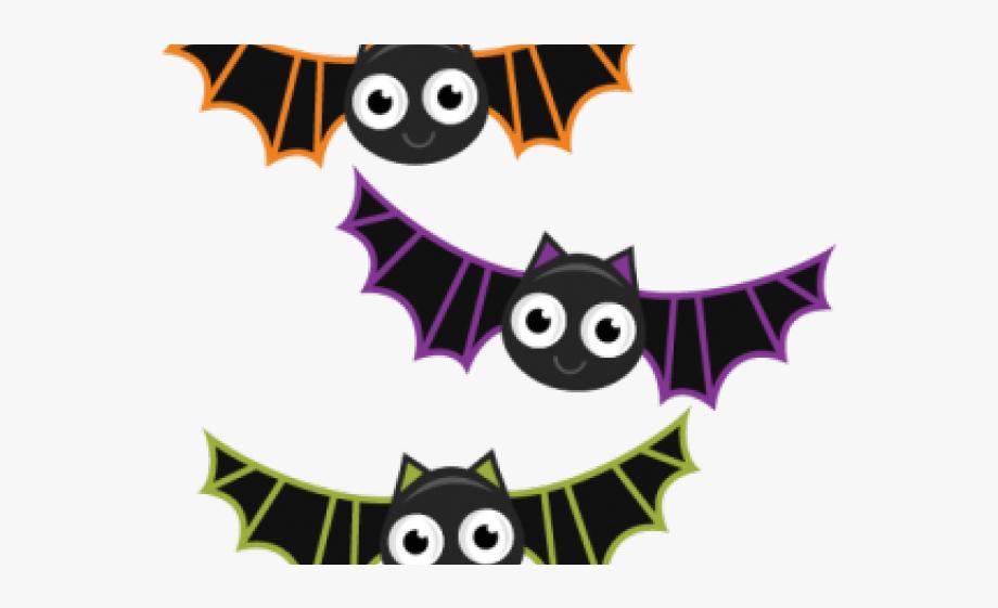 Cute Halloween Bats Clipart