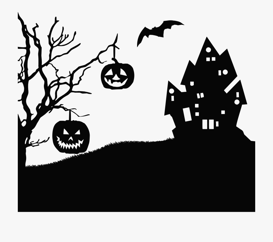 Halloween Clipart Silhouette