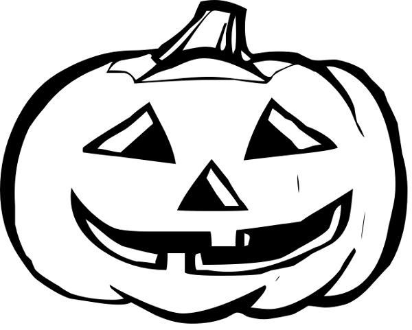 Halloween pumpkin clip.