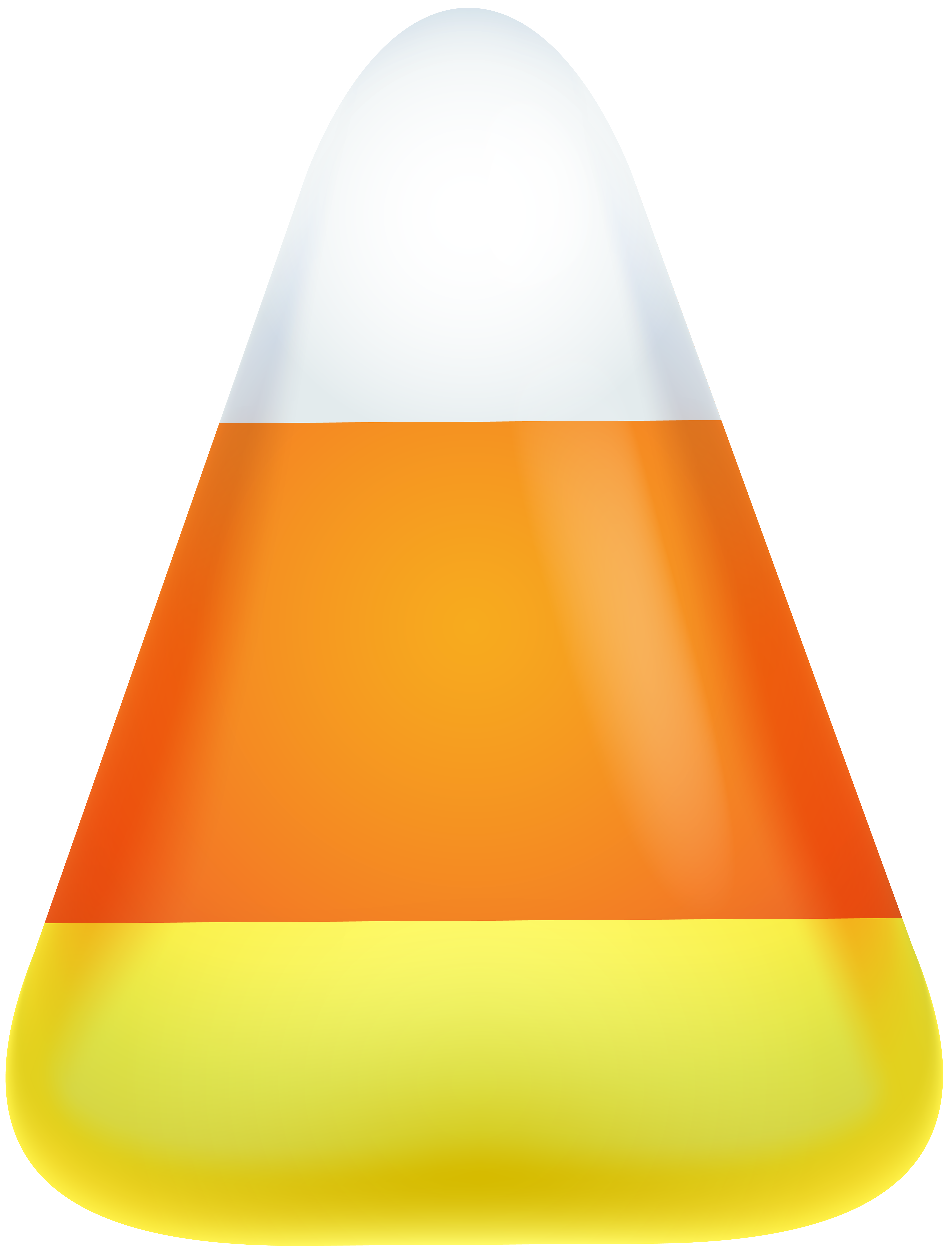 Halloween Candy Corn PNG Clip Art Image