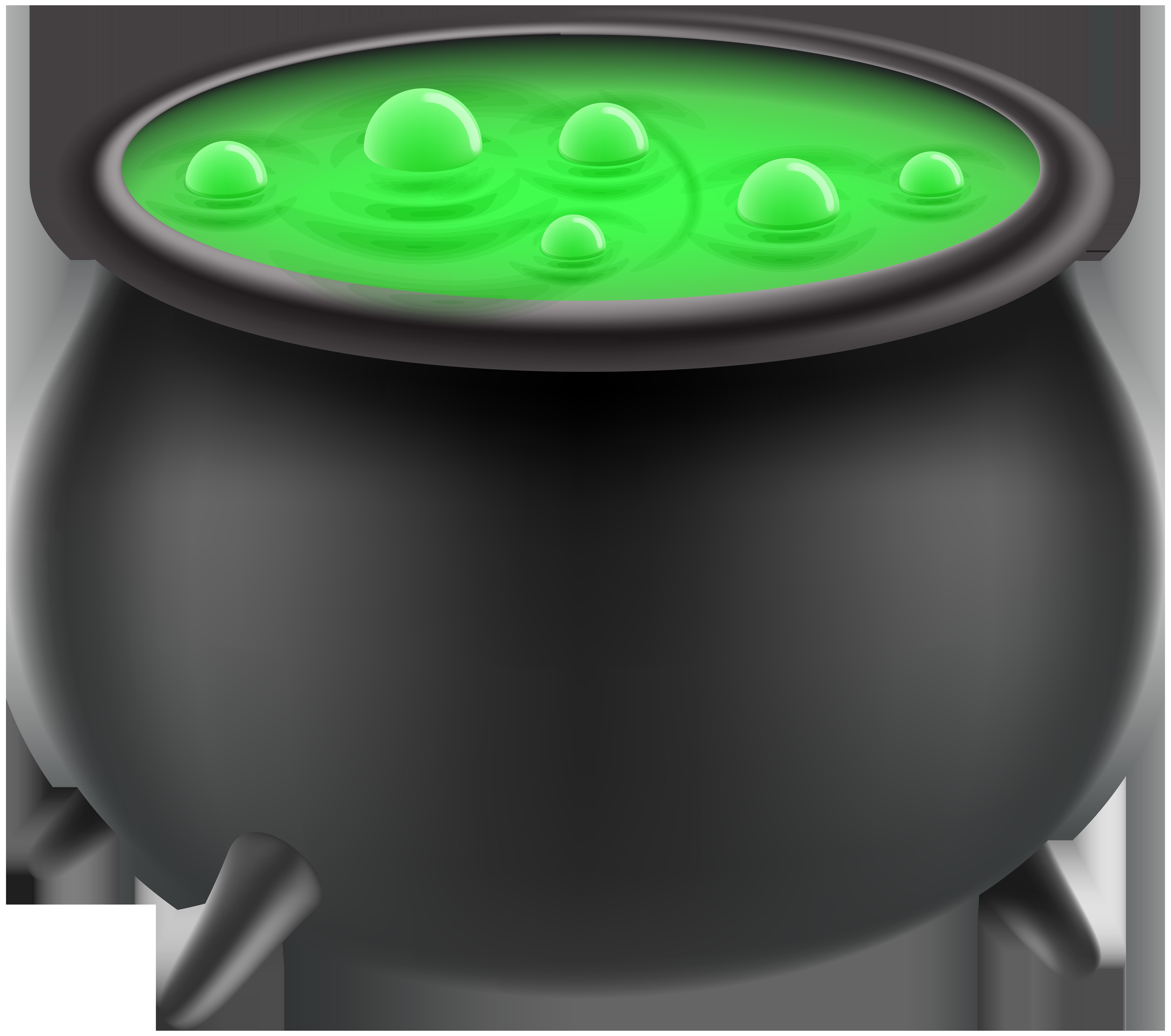 Halloween witch cauldron.