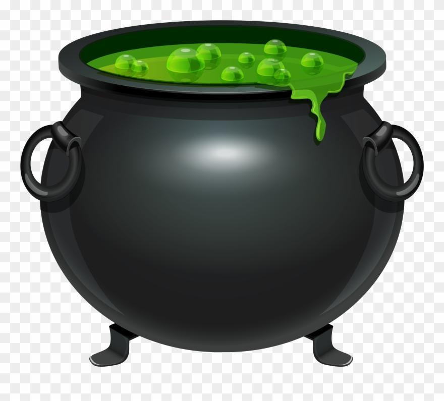 Halloween Witches Cauldron Clip Art