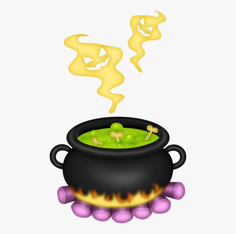 Cauldron clipart halloween.