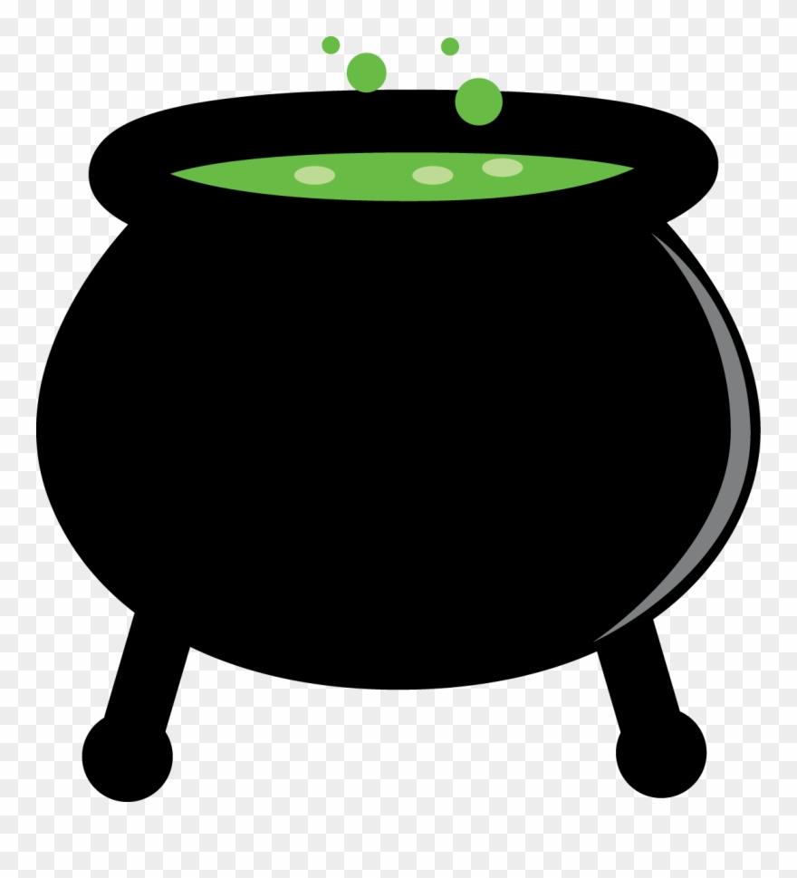 Halloween cauldrons clipart.