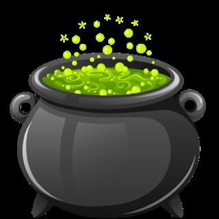 Free witch cauldron.