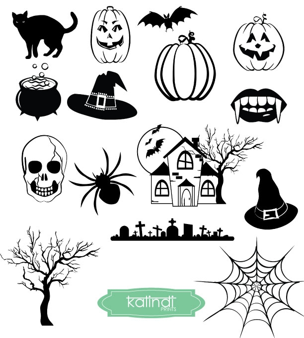 Halloween SVG, DXF, ESP, JPG, Fall Halloween, Printable Digital