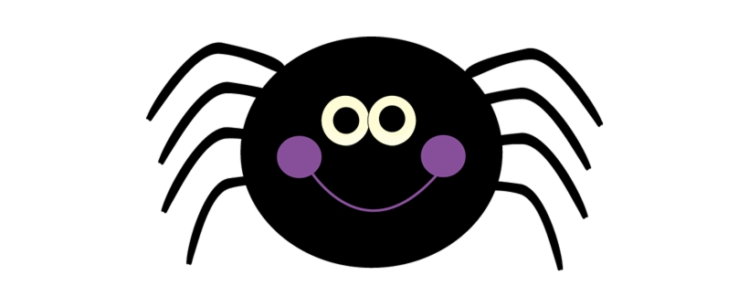 Spider Cute Halloween Clipart Clip Art Free Transparent Png