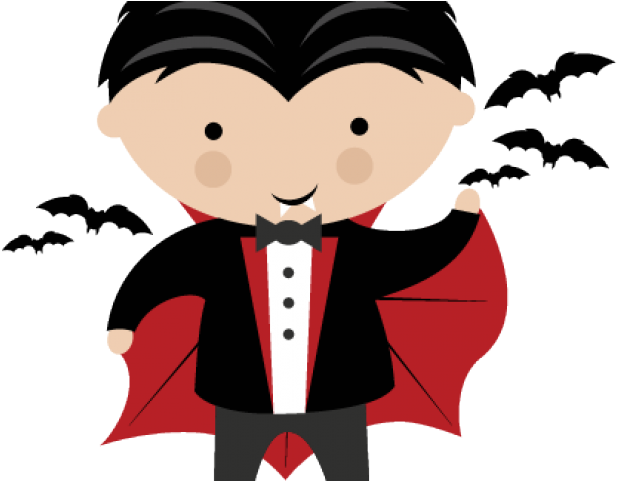 Vampire clipart toddler.