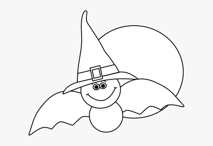 Halloween Clipart Png Black And White
