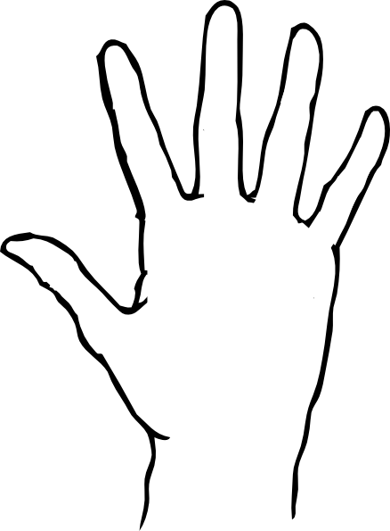 Free printable hands.