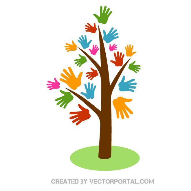 Handprints clipart tree pictures on Cliparts Pub 2020!