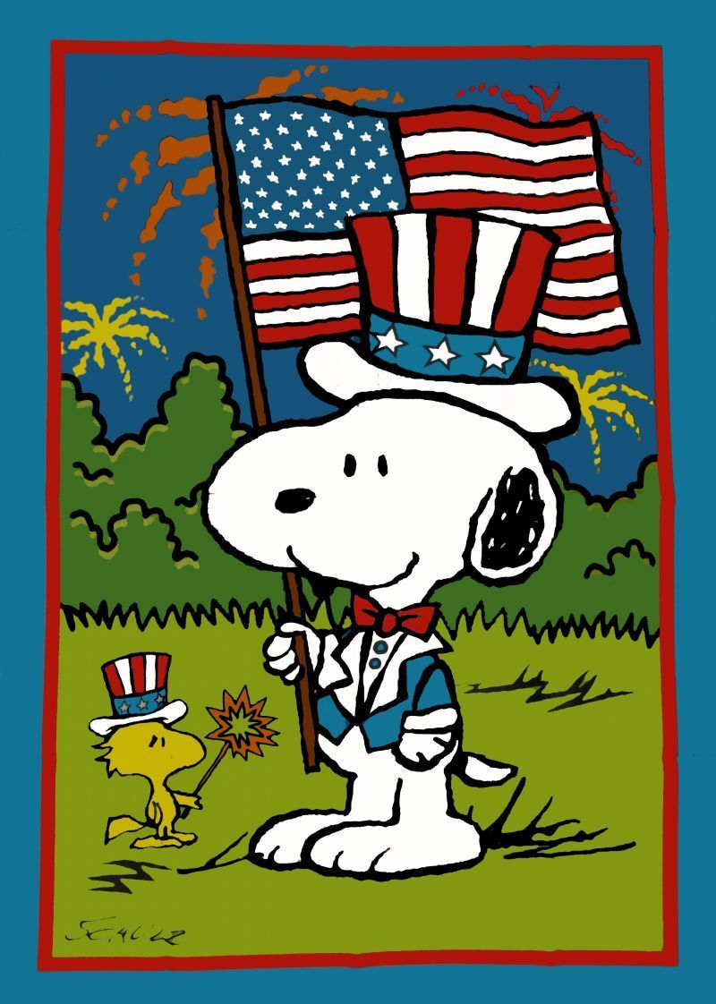 30 snoopy independence.