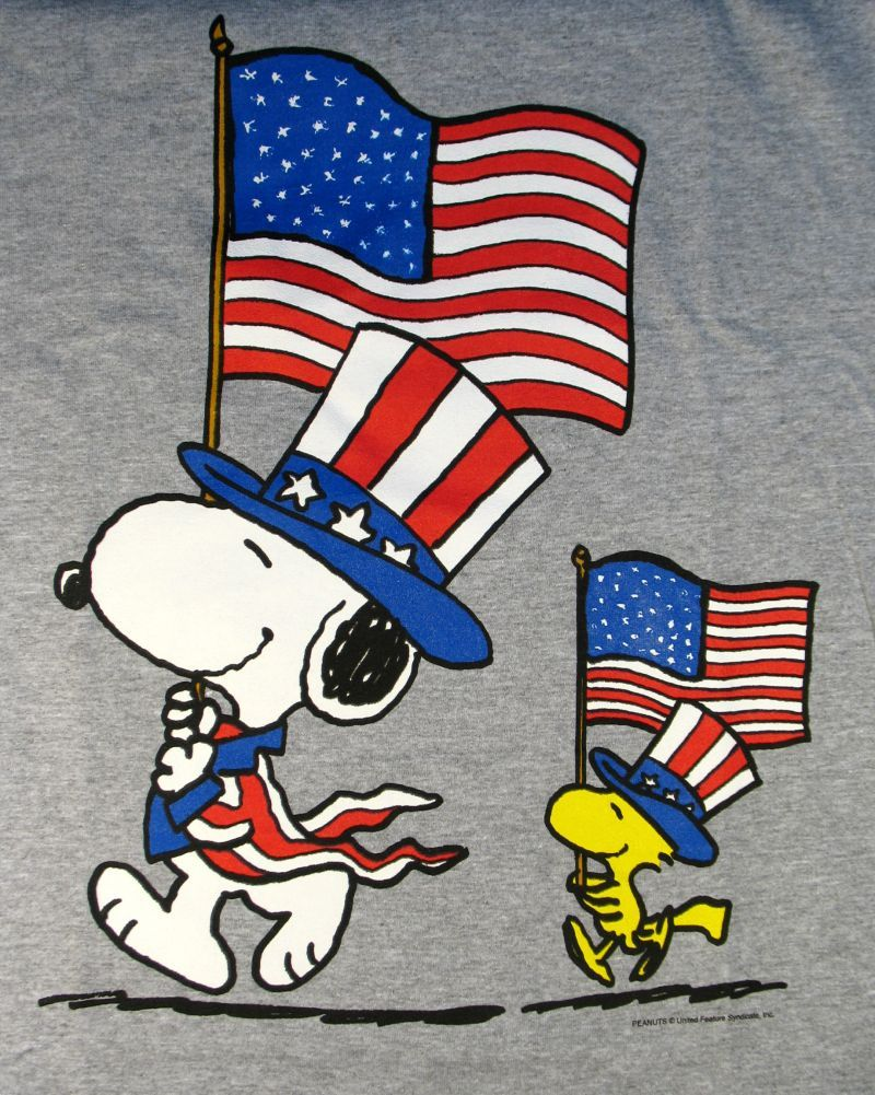 Snoopy woodstock fourth.
