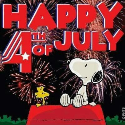 July 4th snoopy.