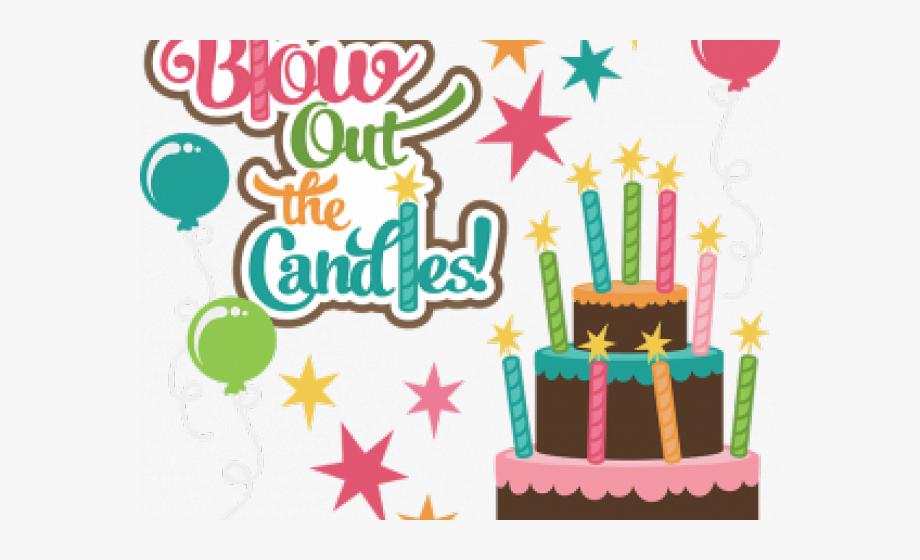 Birthday Candles Clipart Girly Birthday