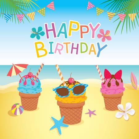 Happy birthday beach.