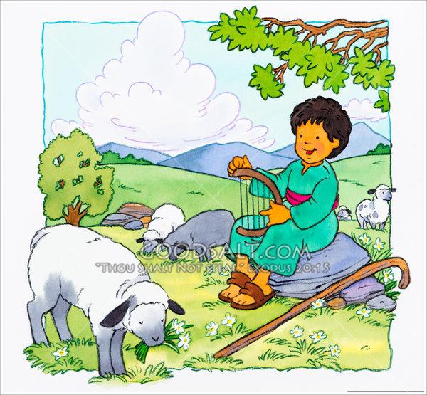 Little shepherd boy.