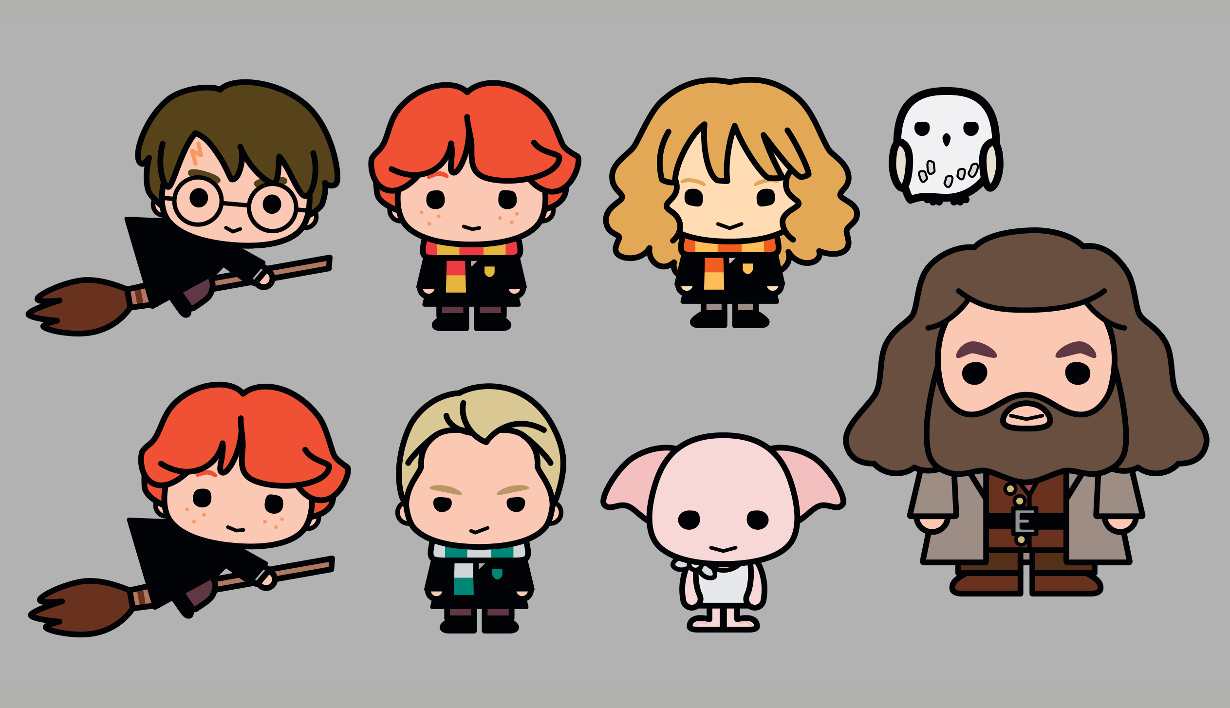 Harry potter characters.