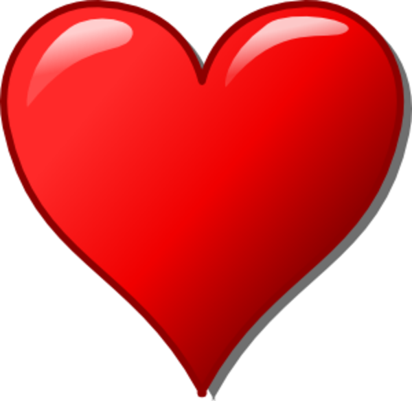 Free heart clip.