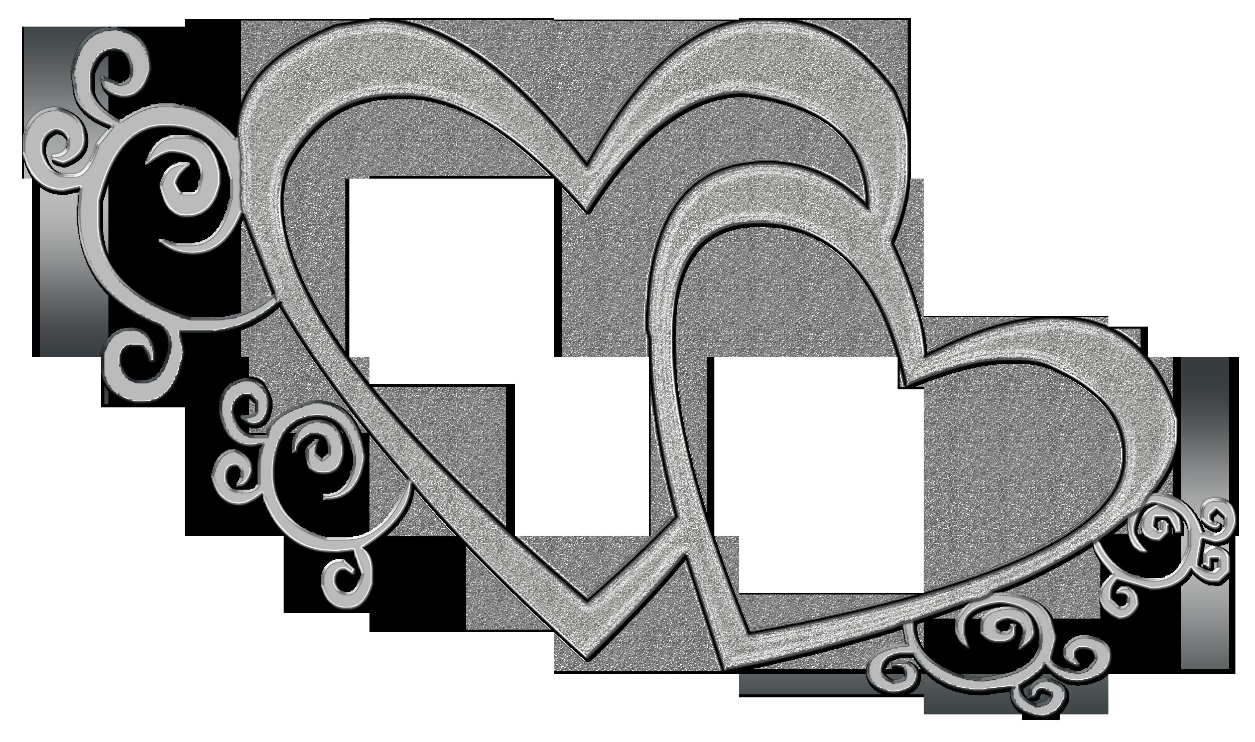 Free double heart.