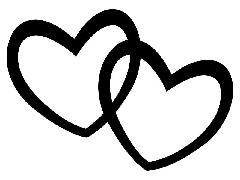 Heart clipart black and white heart black and white clip art