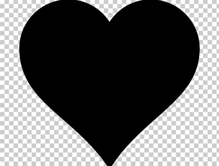 Heart silhouette png.