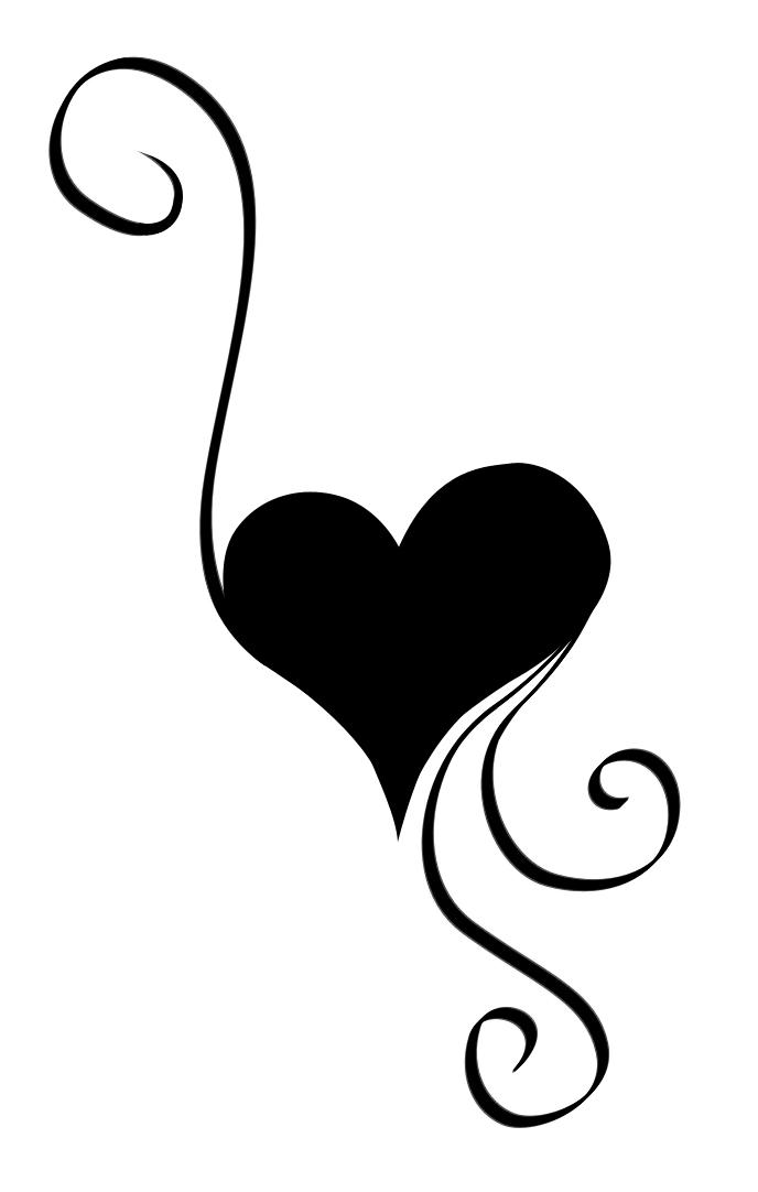 Free swirl heart.