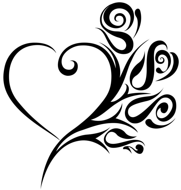 Free wedding heart.
