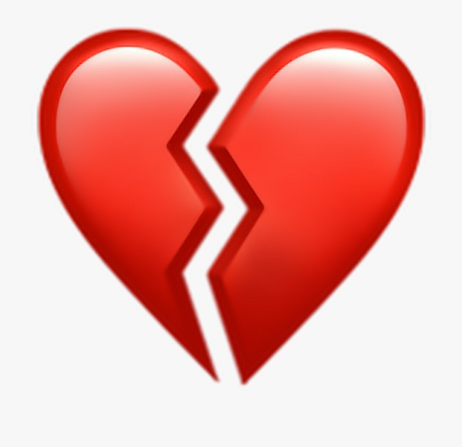 Broken Heart Clipart Picsart