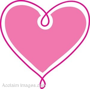 Heart clip art cute