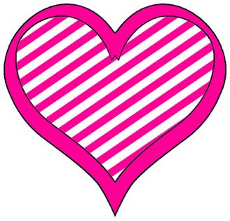 Cute heart clip.
