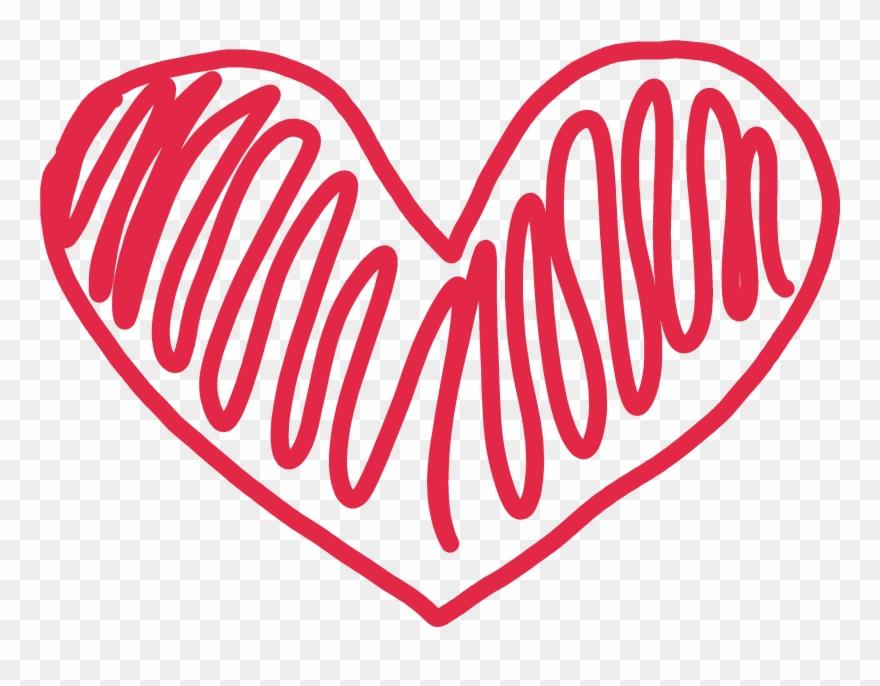 Doodle Heart Clipart