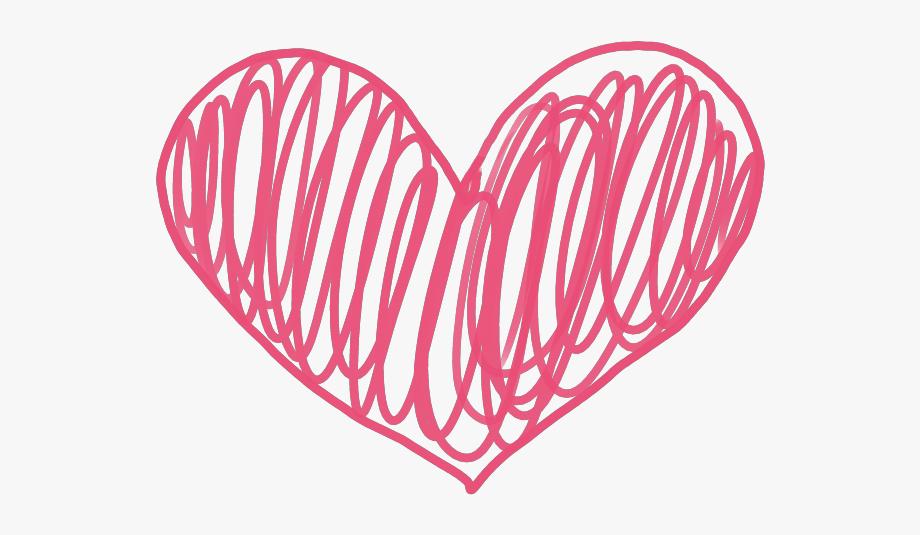 Love clipart doodle.
