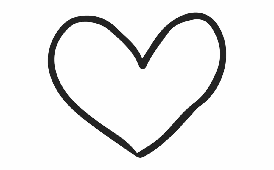 Hand Drawn Heart Clipart Free PNG Images
