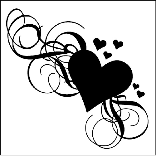 Free Fancy Heart Cliparts, Download Free Clip Art, Free Clip