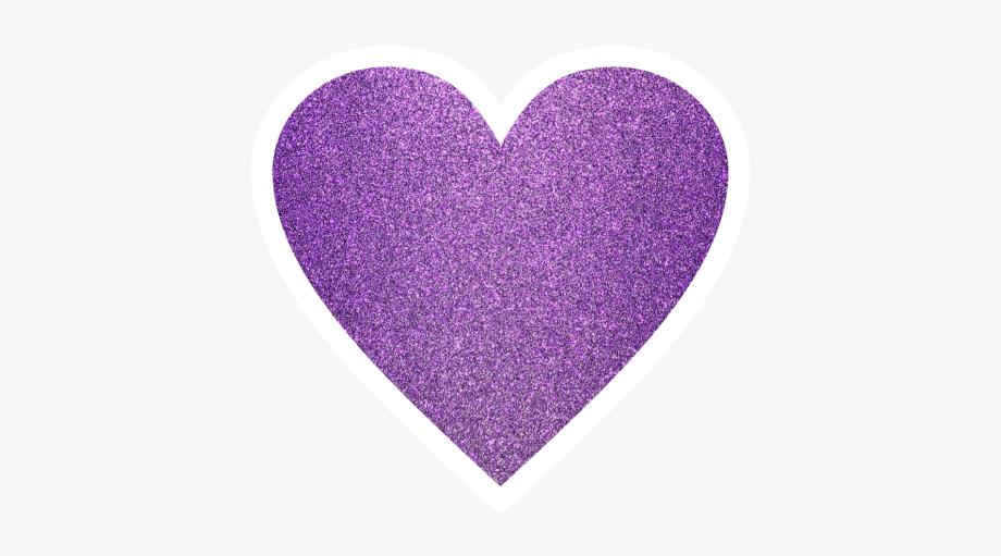 Ftestickers heart glitter.