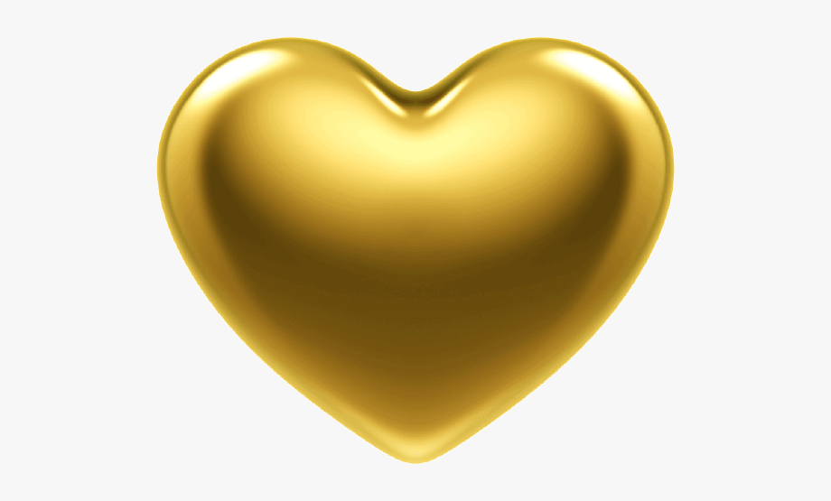 Heart Of Gold Png