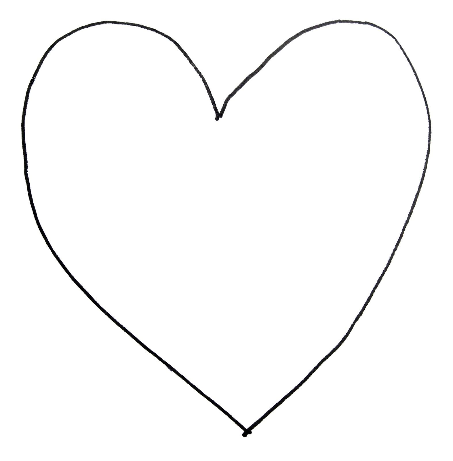 Hand drawn heart.