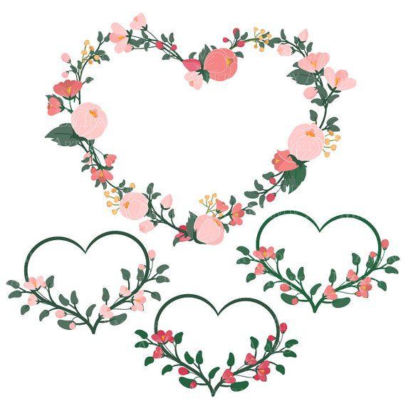 Emma floral heart.