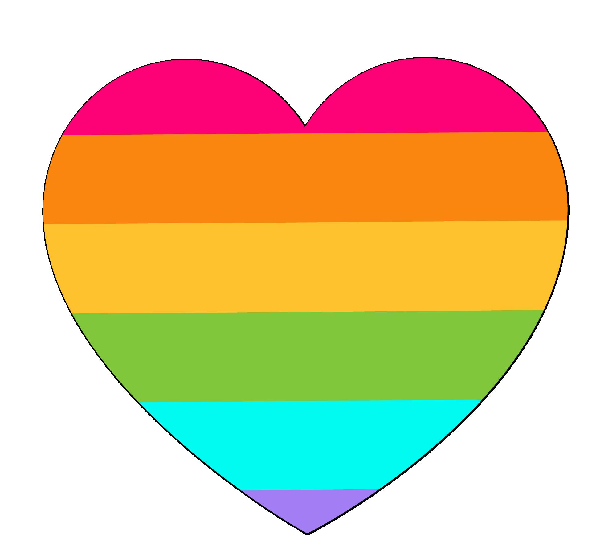 Rainbow euclidean vector.