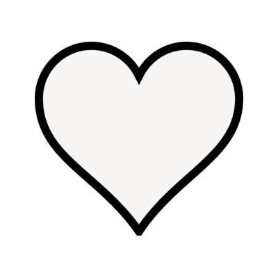 Clip art heart.