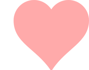 Baby pink heart.