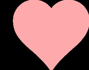 Baby Pink Heart Clip Art at Clker