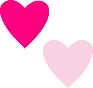 Free pink heart.
