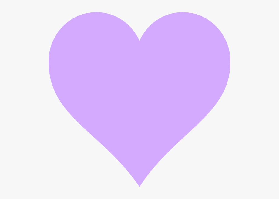 Purple heart emoji.