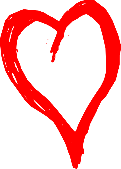 Free Image Of Red Heart, Download Free Clip Art, Free Clip