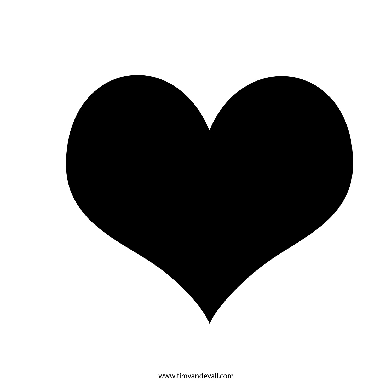 Free Silhouette Of Heart, Download Free Clip Art, Free Clip