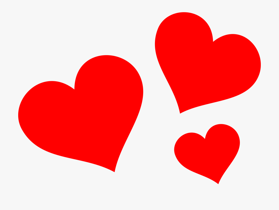 Red Heart Clipart Png